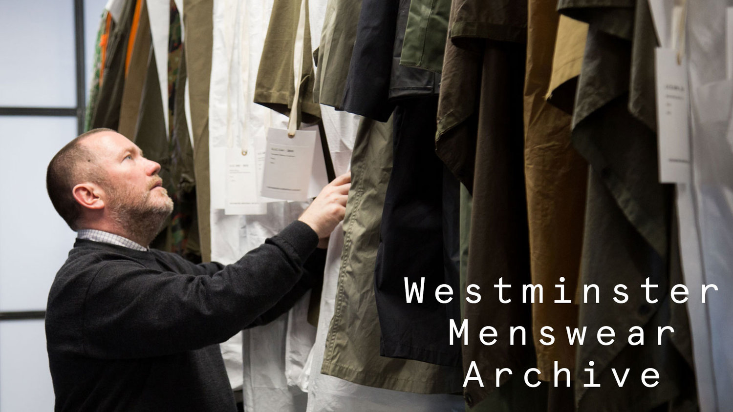 Westminster University Create World S First Public Menswear Archive Styleshoots Fashion Product Photography Equipment