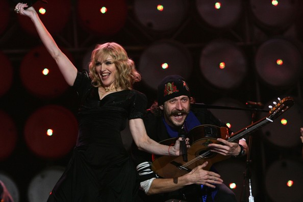 Madonna and Eugene Gogol Bordello London 2007.jpg