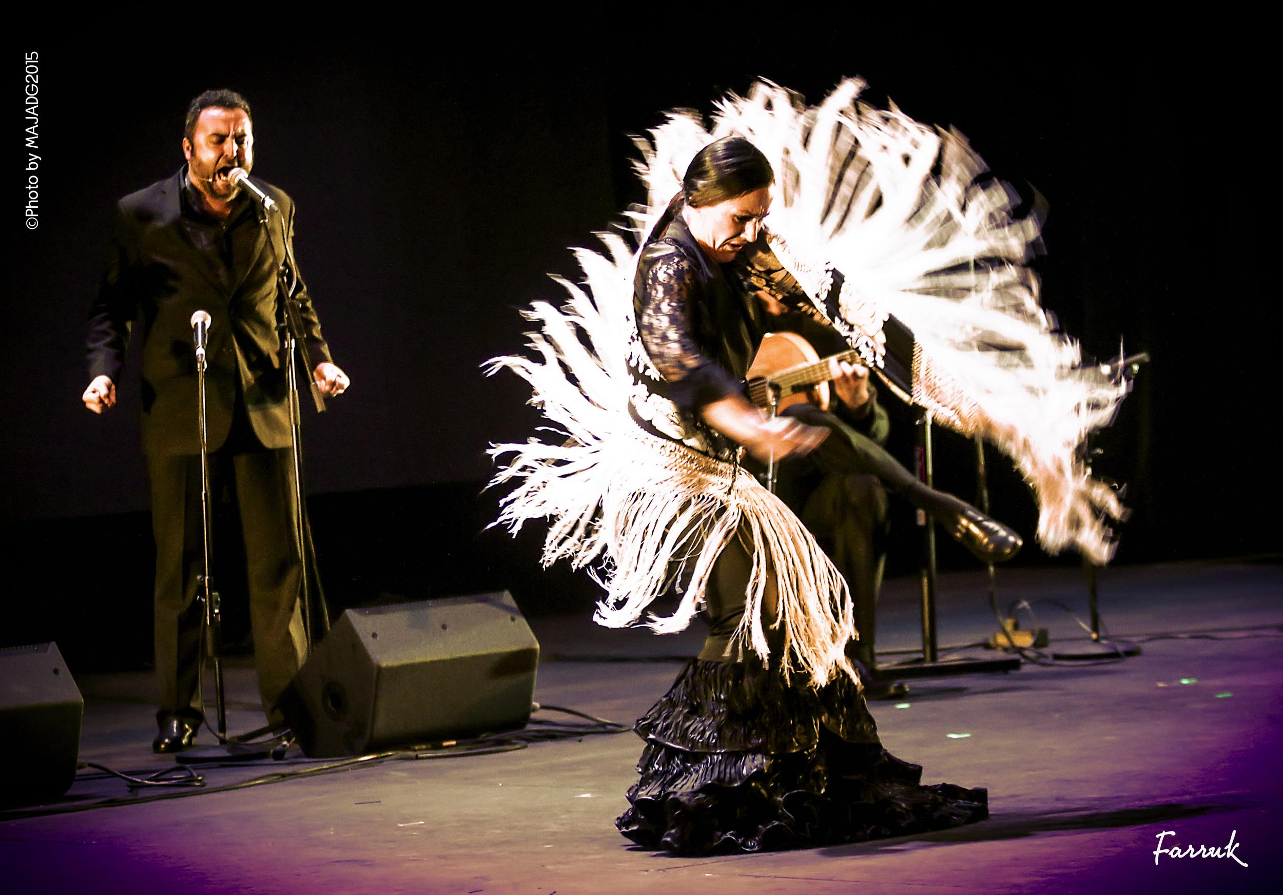Bailaora Concha Jareño, Flamenco en Madrid, Mantón Flamenco, Premio Nacional de Flamenco.jpg