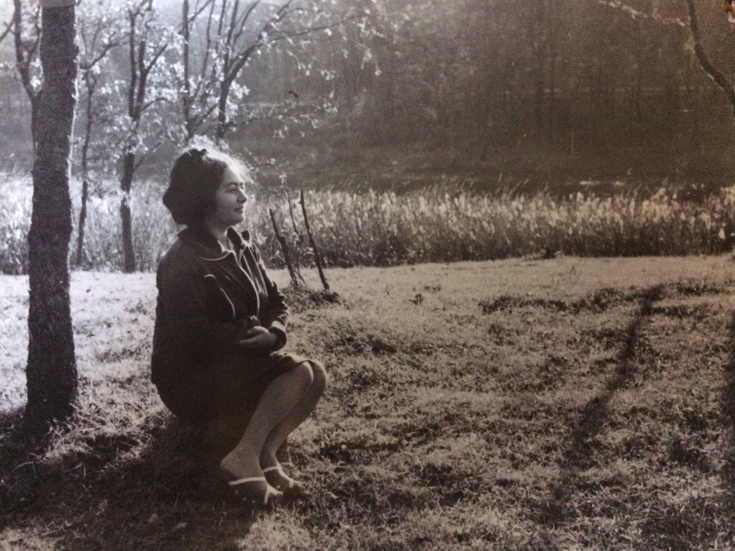 This picture of my grandma was taken by my talented grandfather. I love the light he captured. She looks like a Queen- -So beautiful, so proud, so loved and adored. He had a true passion for photography and used to develop most of our family pictures in a makeshift darkroom in the bathroom. He gave me my first camera, a Smena 8M, and thought me how to use it.