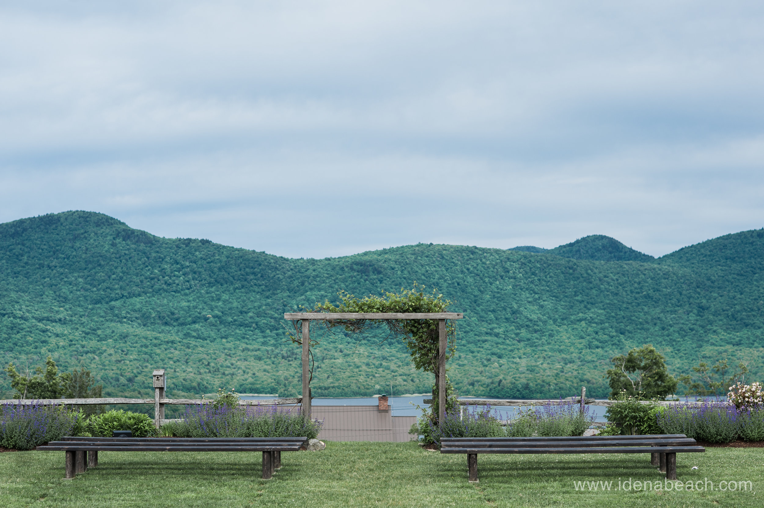 Ceremony site at The Mountain Top Inn