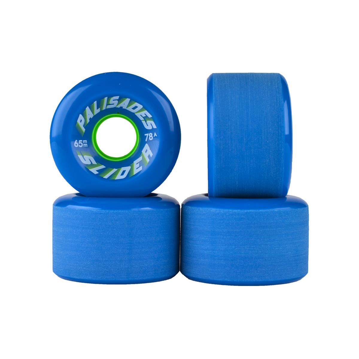 Stone ground center set w/radial edges. Blue