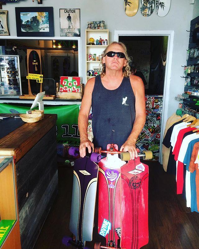 Fan of Palisades Reef Slider drop thru longboards. #palisadeslongboards #longboards #californiamade