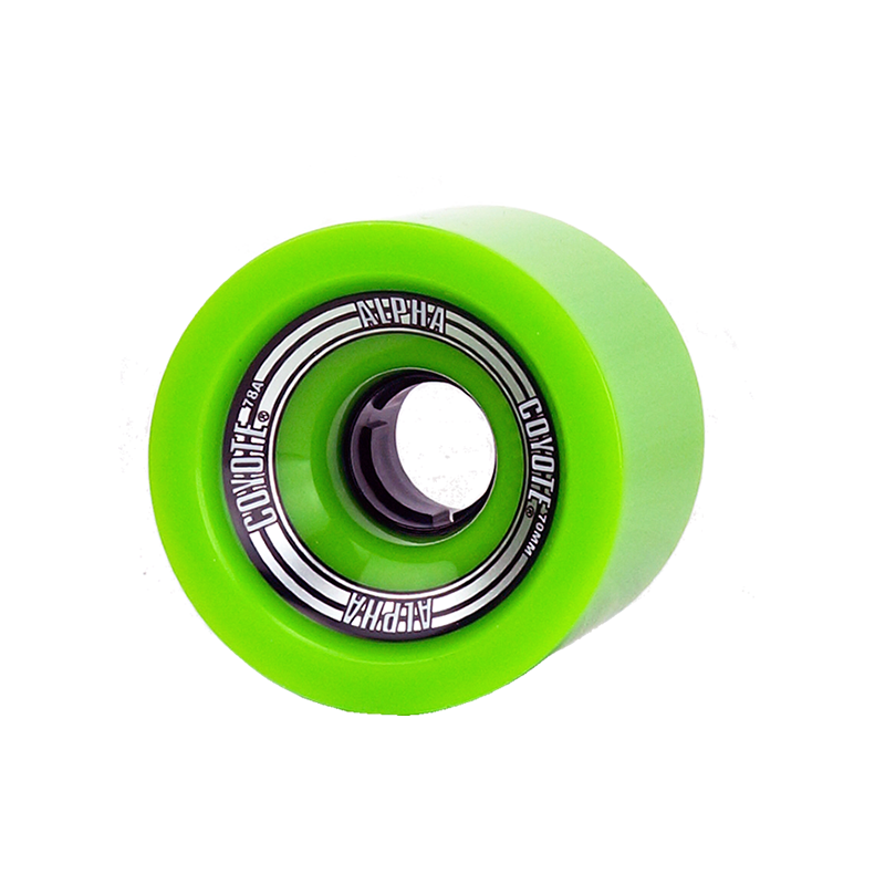 Coyote-Alpha-Wheel-Single-Green-70mm.png