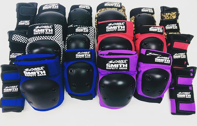 Grab some Scabs protection for your lil one.  #scabs #grom #skateboardingisfun #selectdistribution