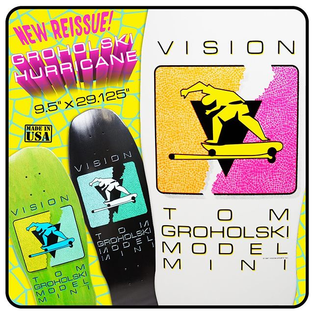 #visionboards #groholski #skateboards #selectdistribution