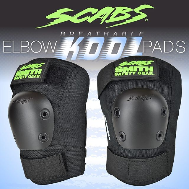 Don't be bothered by sweat 💦 wear the Scabs kool elbows. #smithpads #skateboarding #rollerskating #scabs