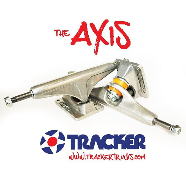 Tracker trucks Axis ready to grind, grab some for your shop now! #trackertrucks #skateboardingisfun #skatetrucks