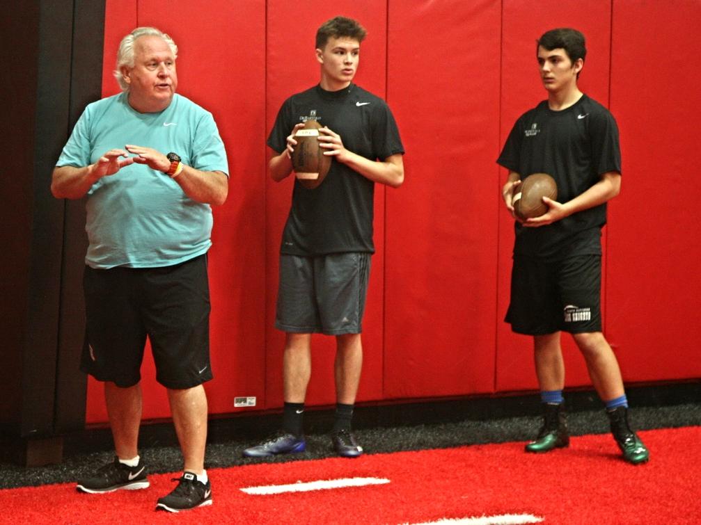2014 Jacksonville Holiday Elite QB Training
