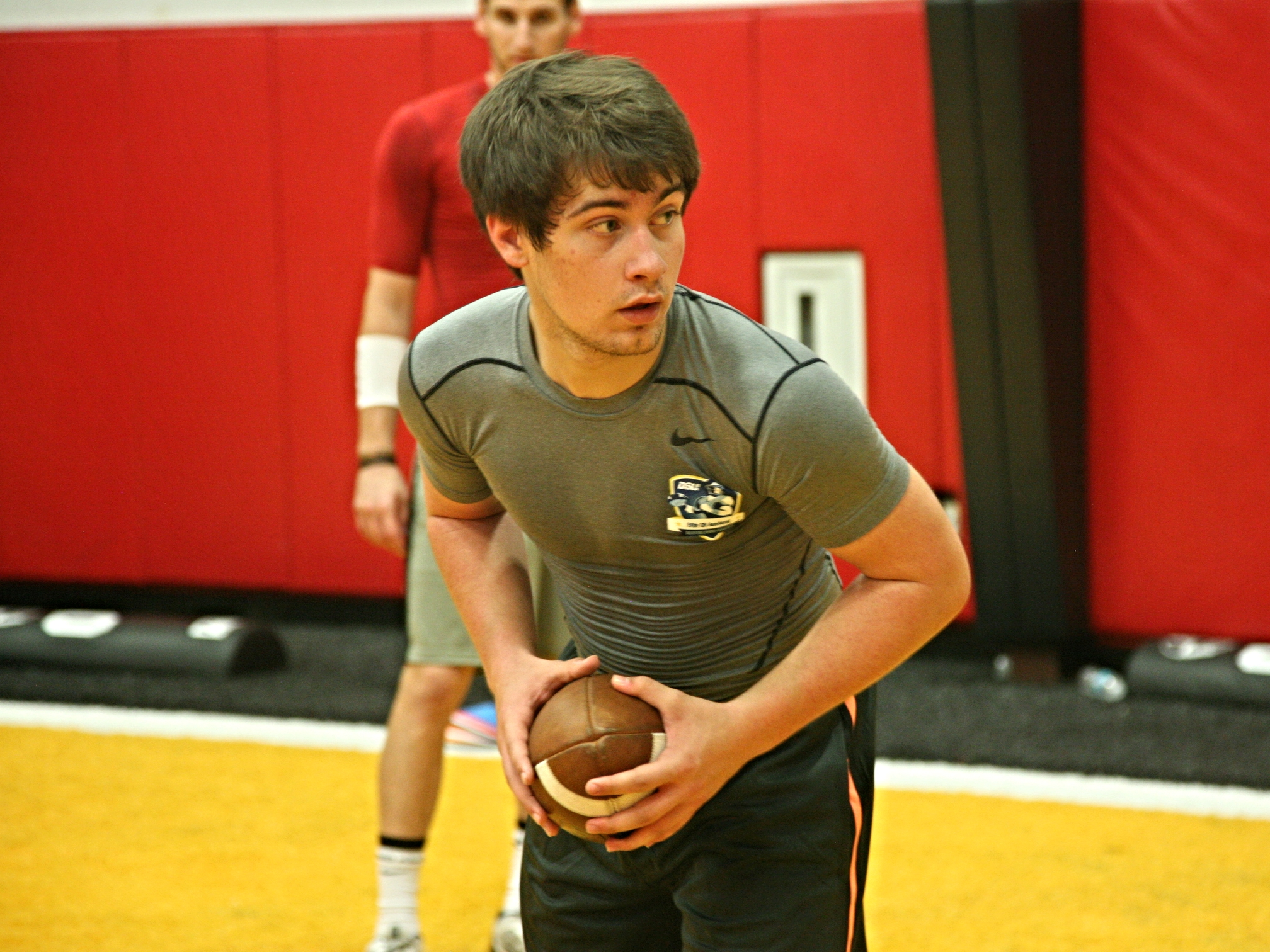 Heritage Hall QB Mike McMullen (Class of 2016)