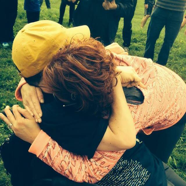 After completing walking 5km I was filled with emotions I hugged my wife and did not want to ever leave her arms...