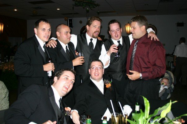 The boyz at my wedding...