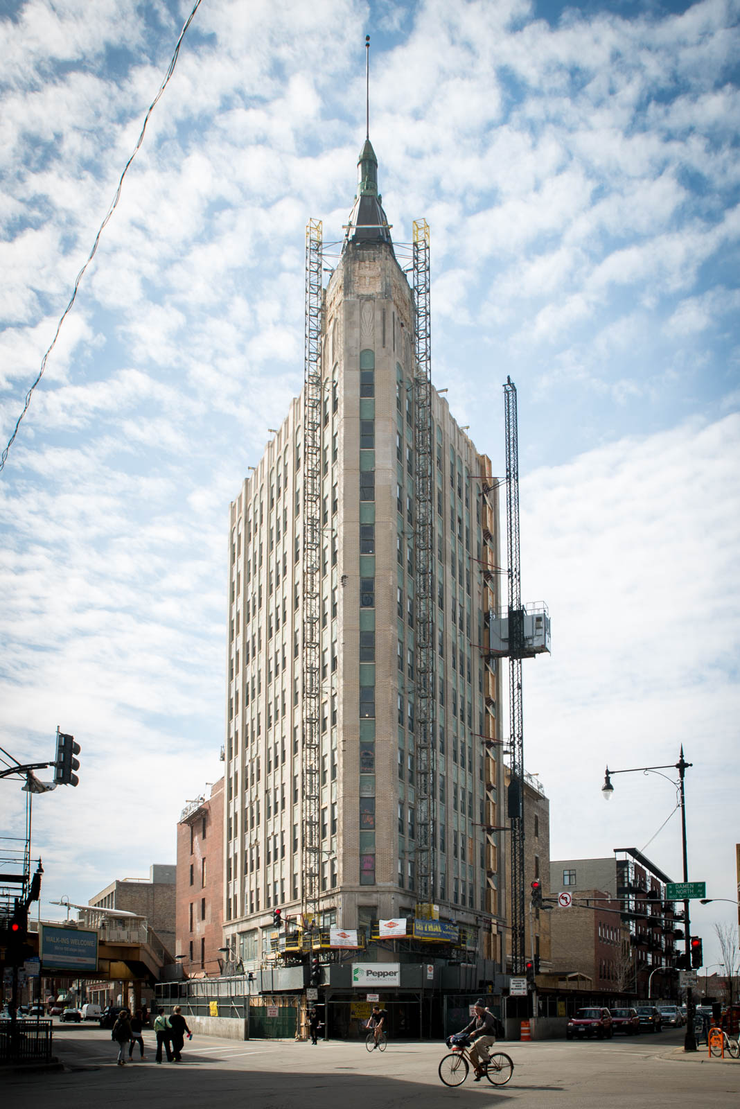 Northwest Tower, 1600 N Milwaukee Ave