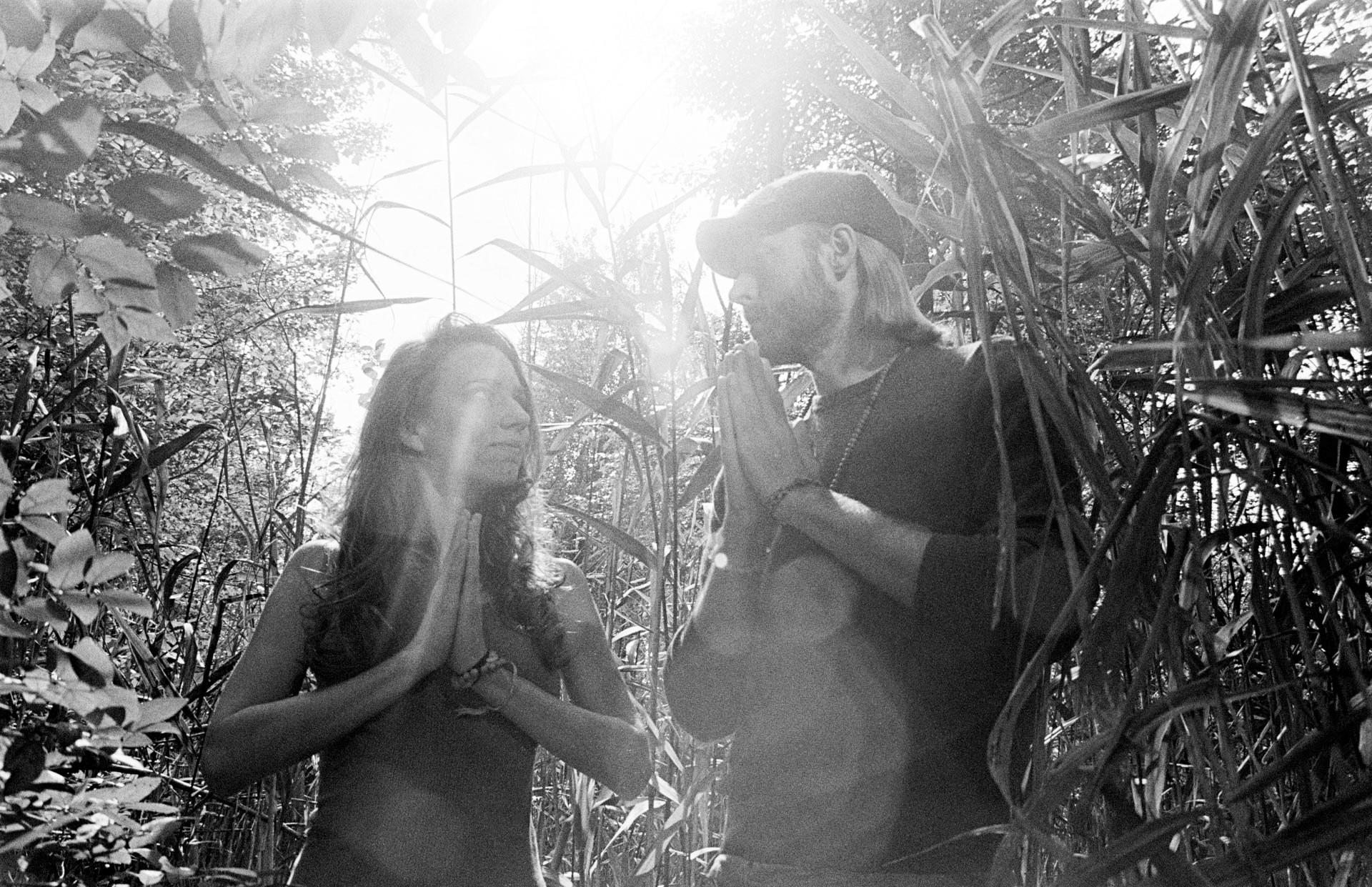 Cass Greener and Sean Dunne - Filmmakers & Psychonauts - Rutliated Quartz