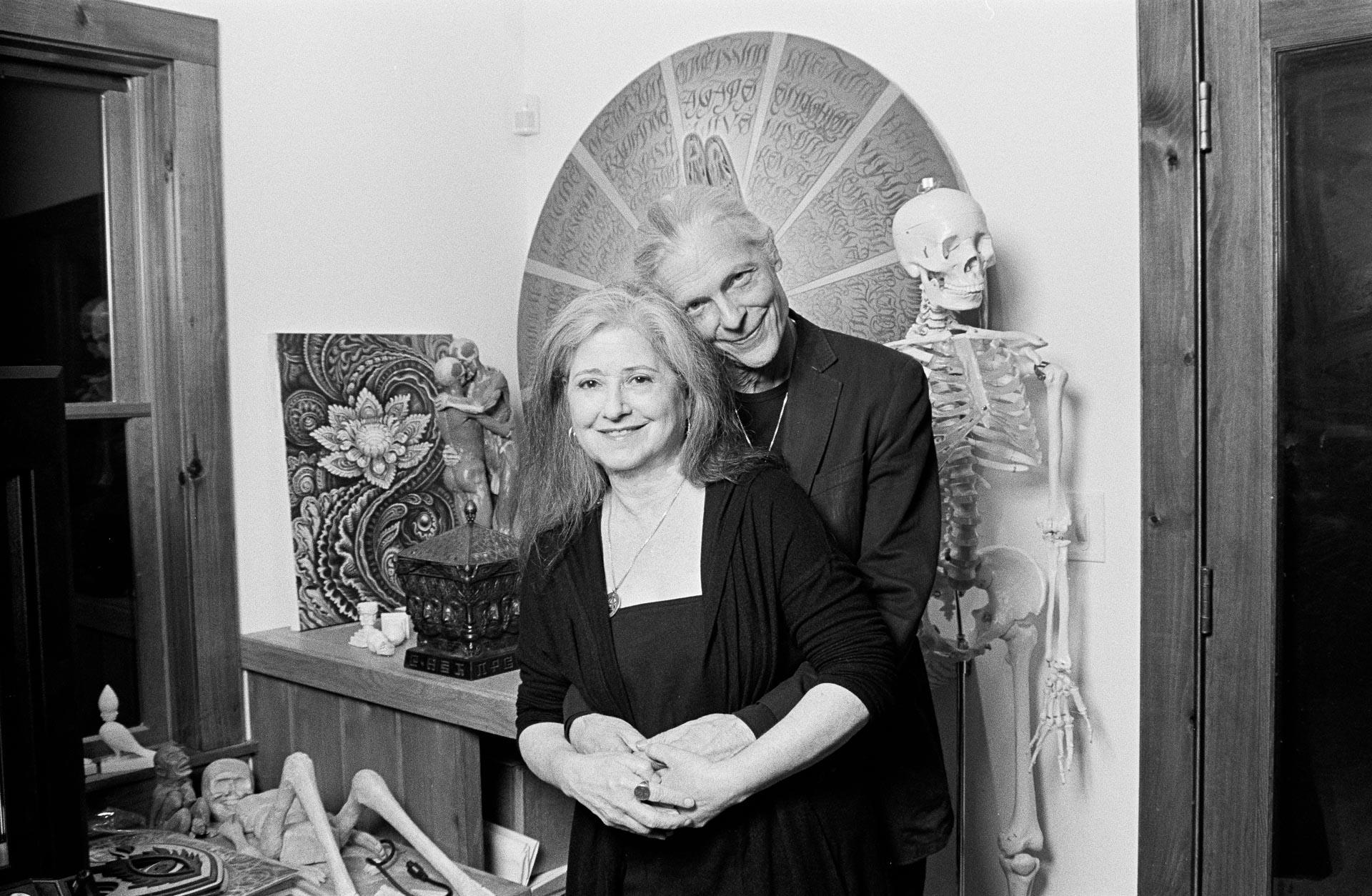 Allyson and Alex Grey - Visionary Artists - Rose Quartz