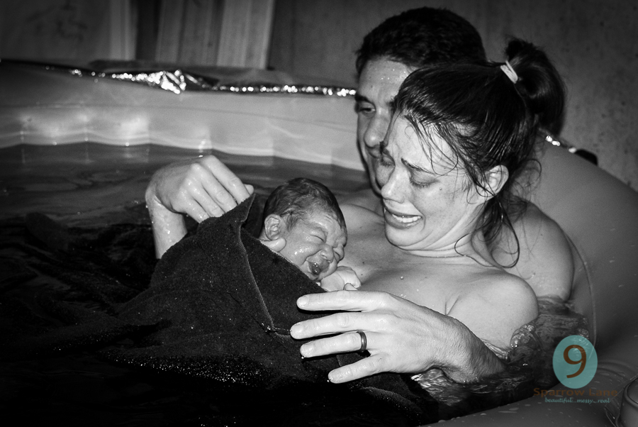 A favorite from the first birth I captured 7 years ago.