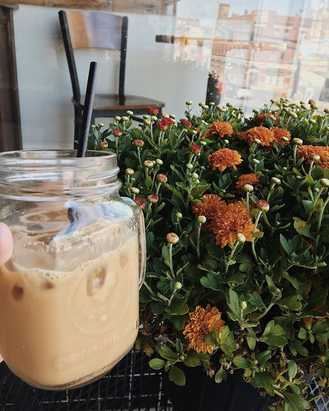 It might not feel like fall outside, but it sure does in here! We have new fall flavors and strong AC, so feel free to wear your fall sweaters!  #Coffee #Winchesterky #winchester #cairncoffeehouse #pumpkinspice #fallcoffee #sweaterweather #kentuckyfall