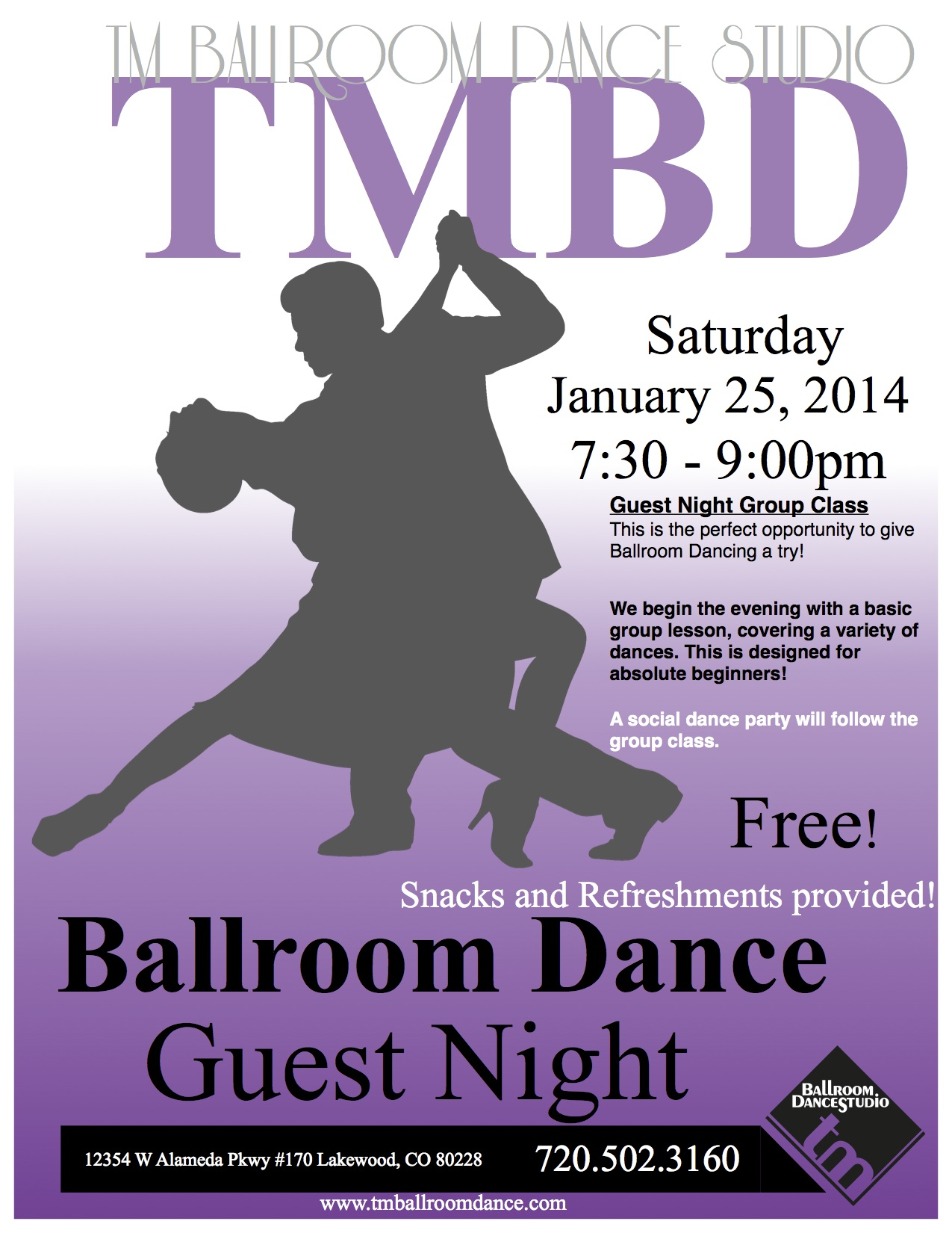 Dance Guest Night Denver