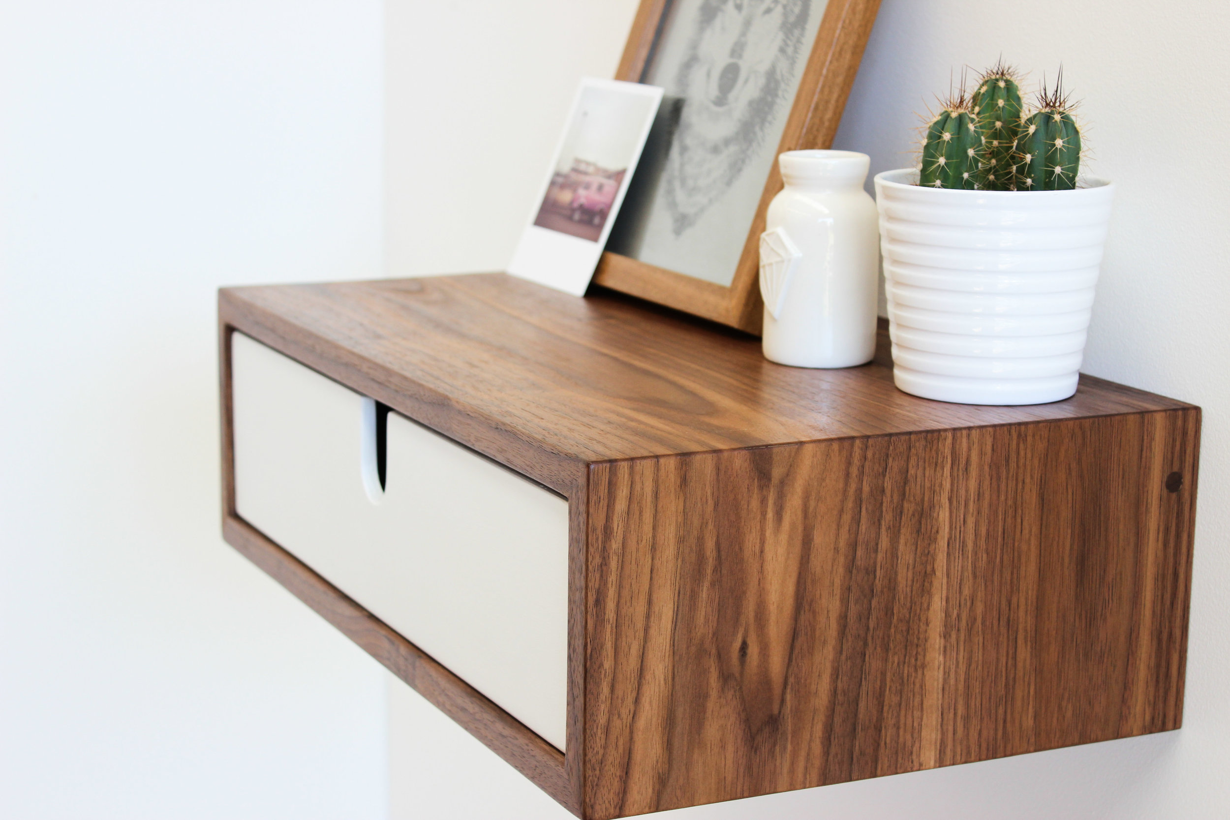 Wall Mounted Nightstand Imago Furniture