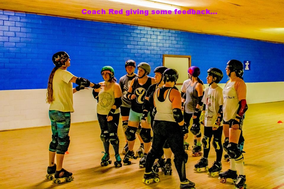 Feedback time c/o Red, our coach