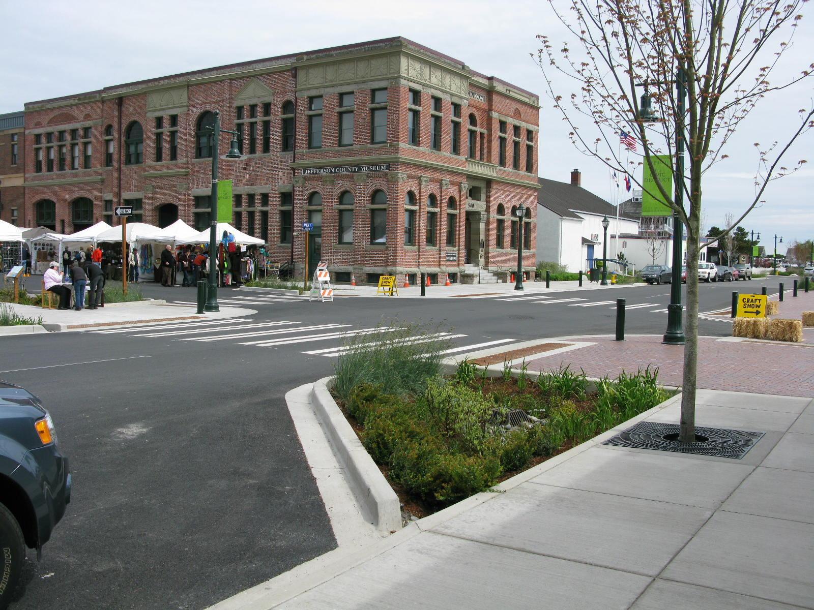 HISTORIC DISTRICT STREETSCAPES | PORT TOWNSEND, WA