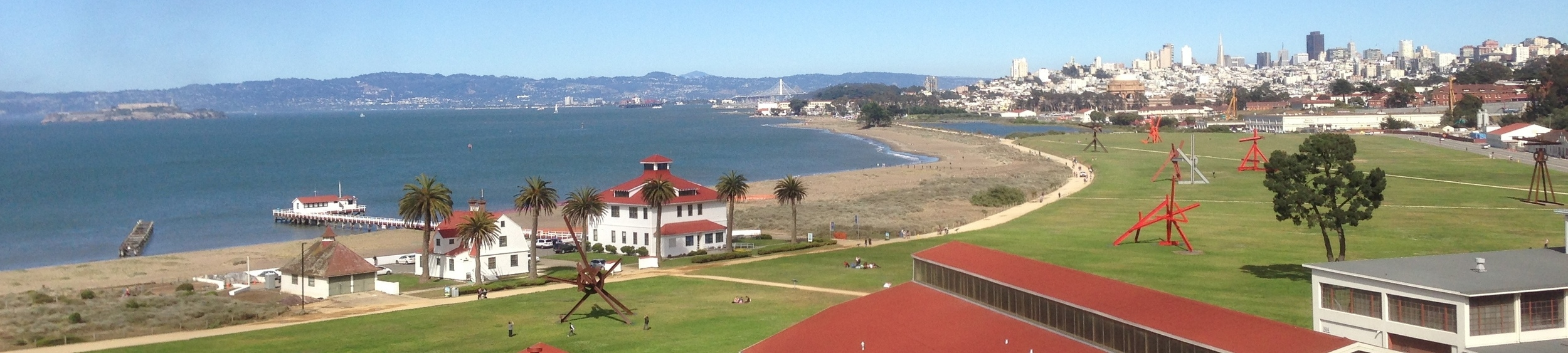 Crissy Field, the Marina, 8 blocks from Dr. Cunningham's office