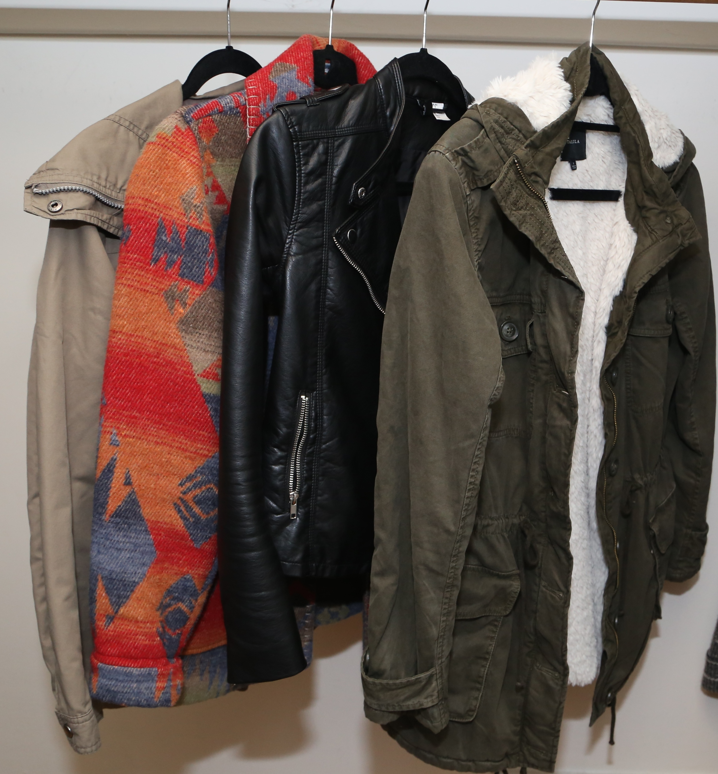 Jackets to take me through San Francisco's varying winter weather.