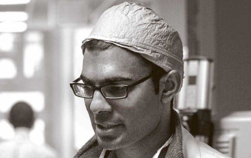 The author,Dr. Paul Kalanithi.