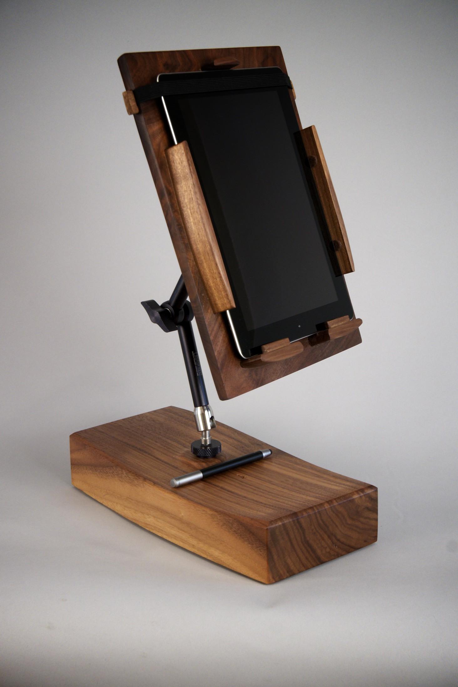 Cooks Tablet Stand , black walnut