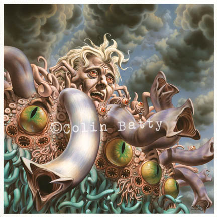Adding amazing Colin Batty art to his gallery! Check it out! Another Lovecraft inspired image, the Dunwich Horror.