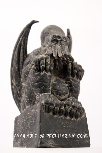 Check out these new, limited edition busts of Cthulhu by Portland artist, Matt Mckenna. We just got three in stock.