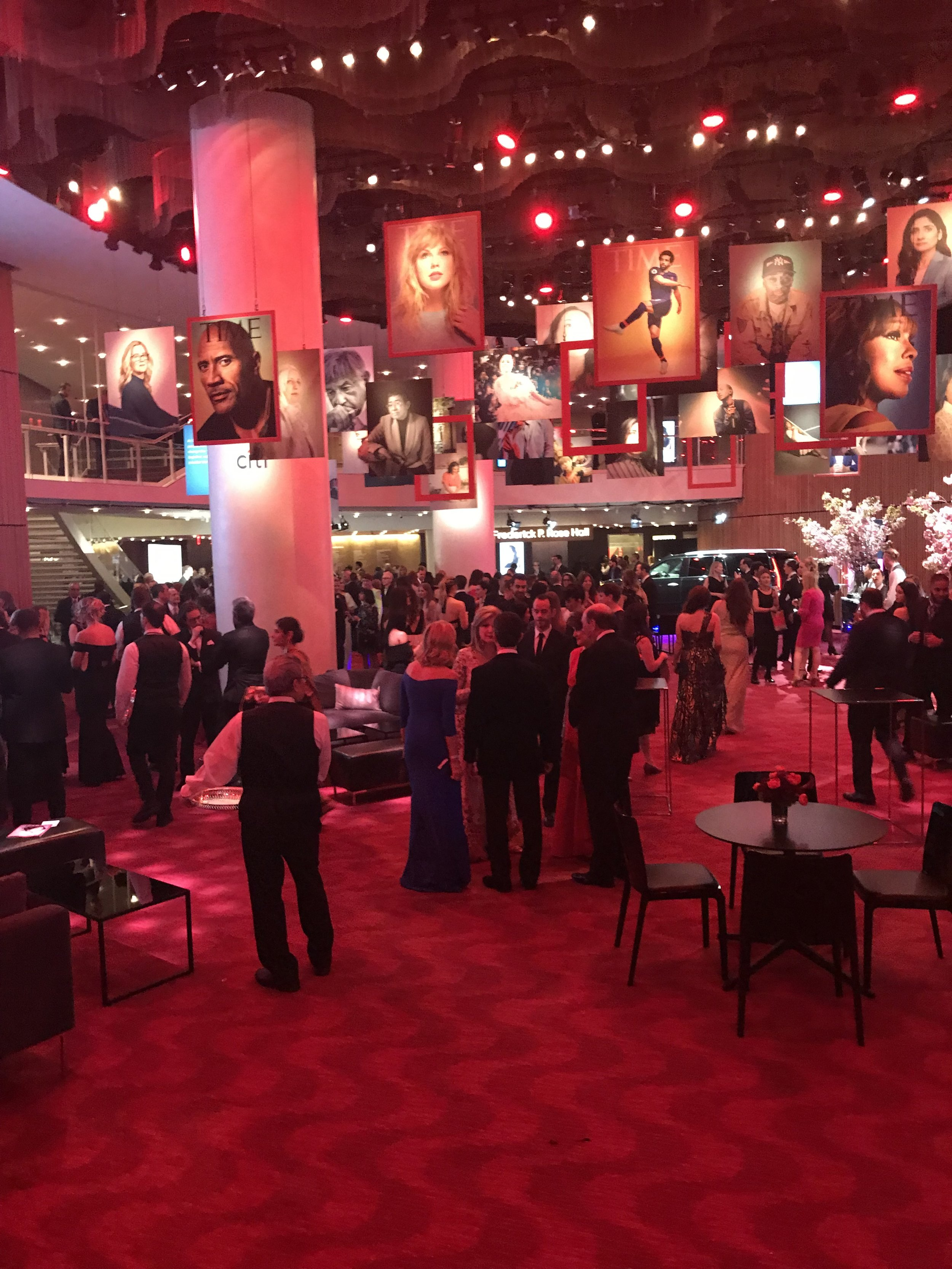 View from the stage at the TIME 100 gala 2019