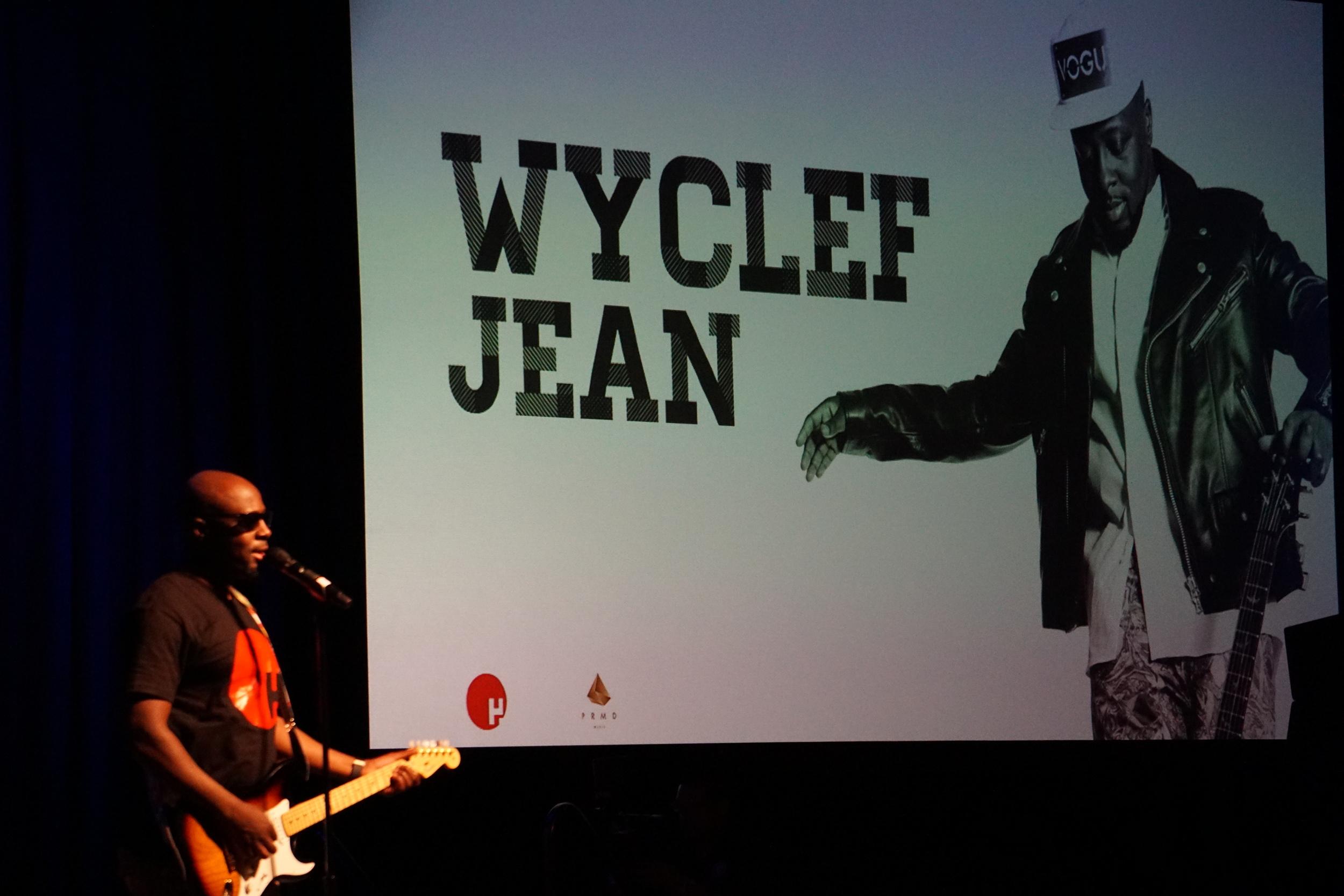 Wyclef Jean @ CBS Event.JPG