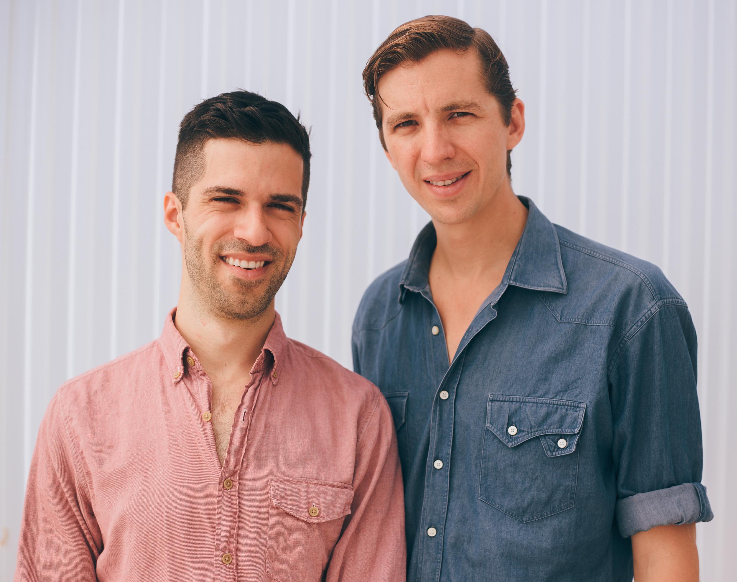 Joseph (L) and David (R)