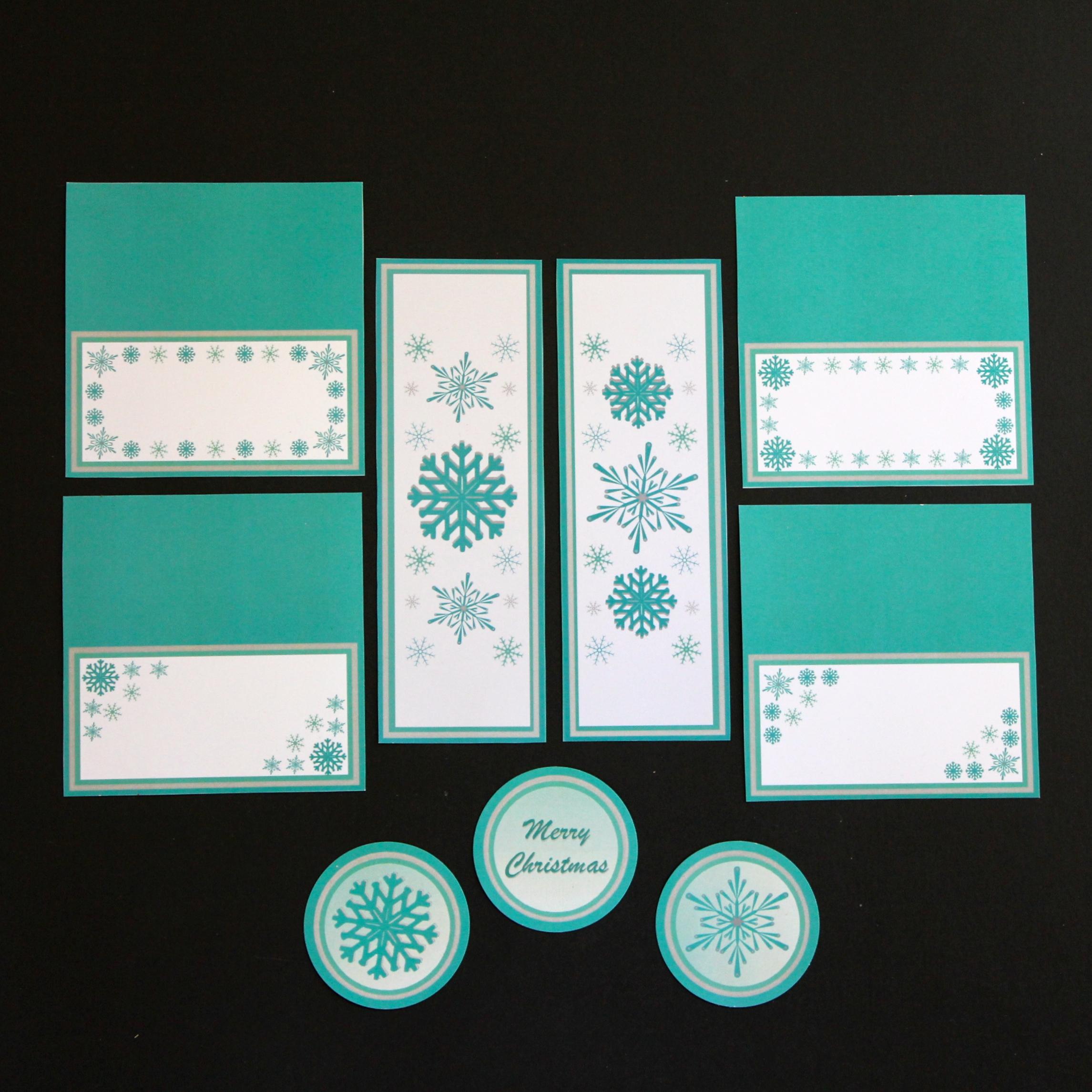 Christmas Printable Range - Dining Package