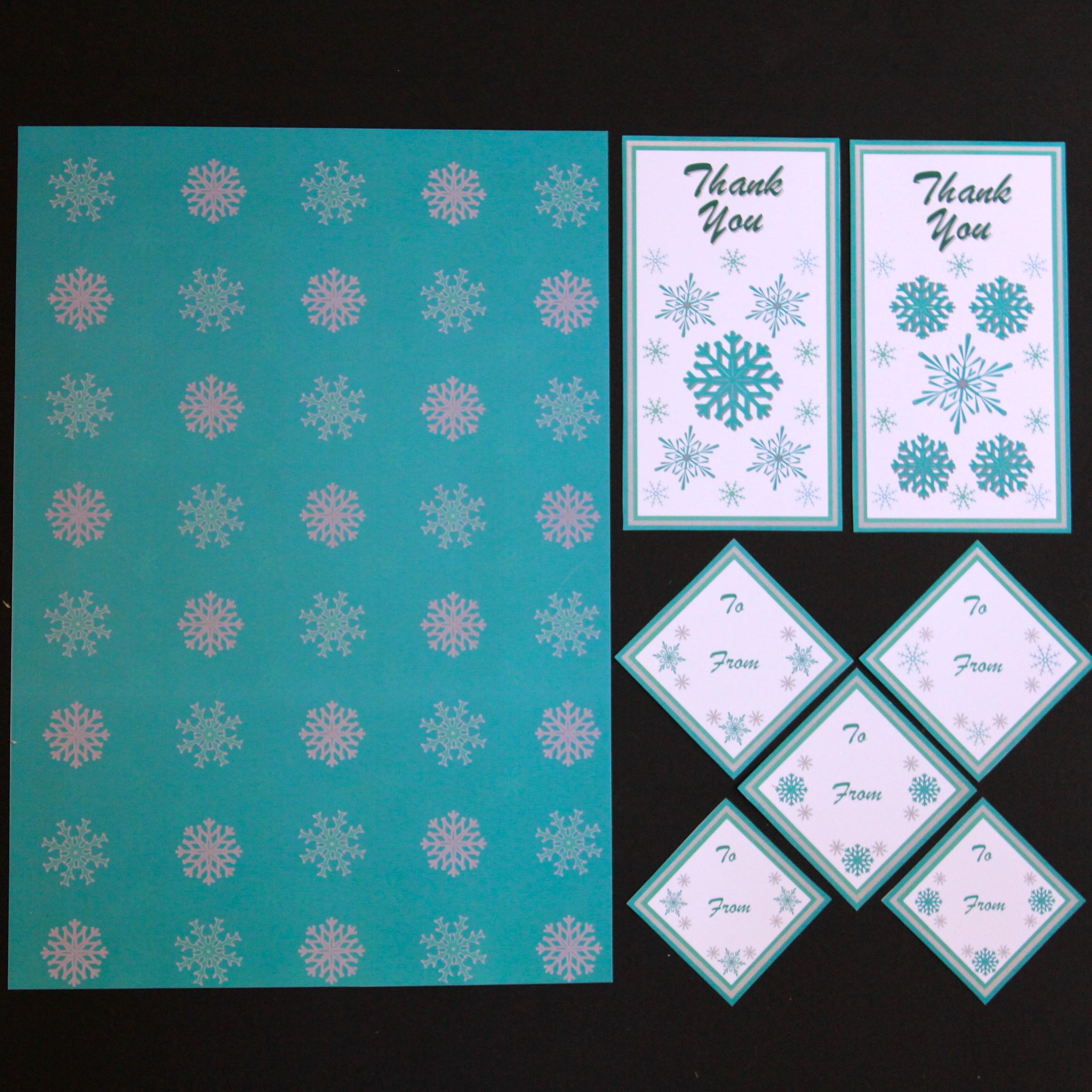Christmas Printable Range - Gift Package