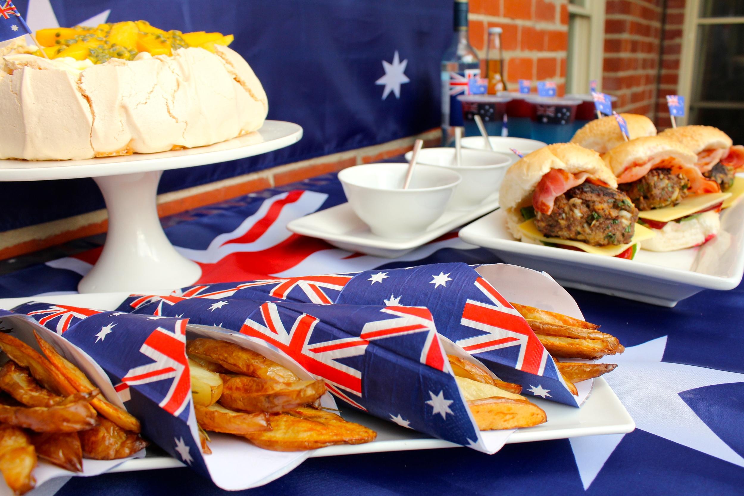 Australia Day Menu