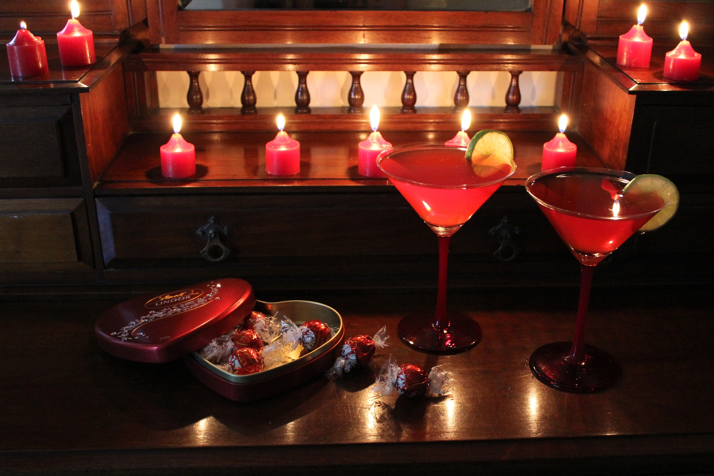 Valentines Day - Night at Home