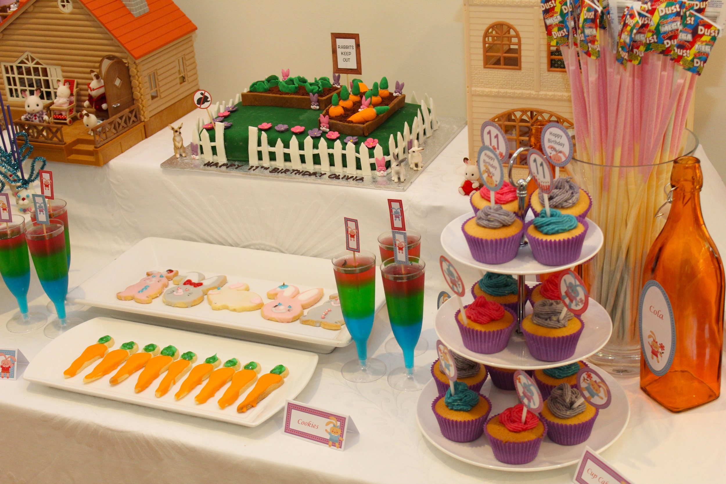 Bunny Party Dessert Table