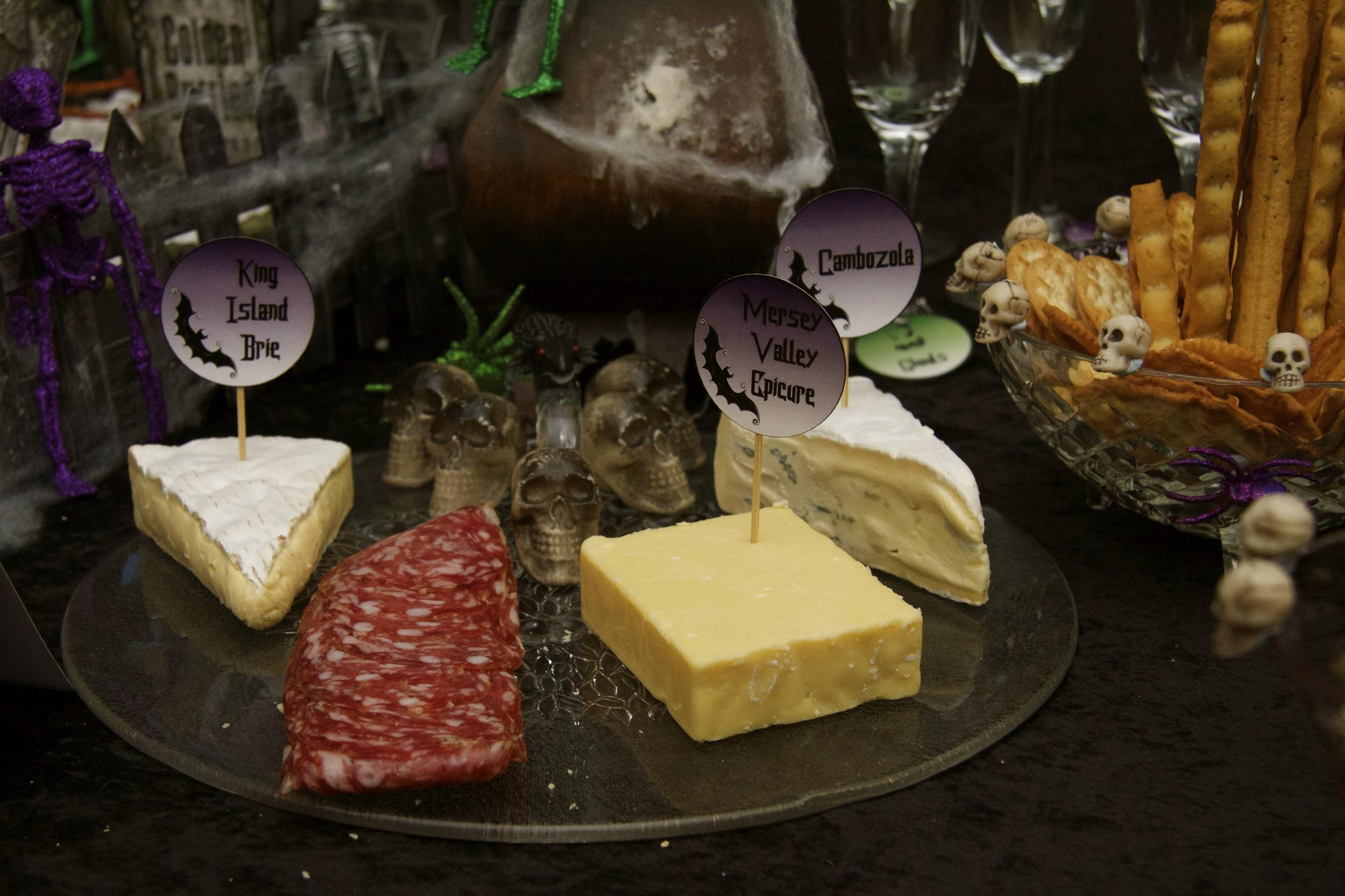 Halloween Cheese Platter