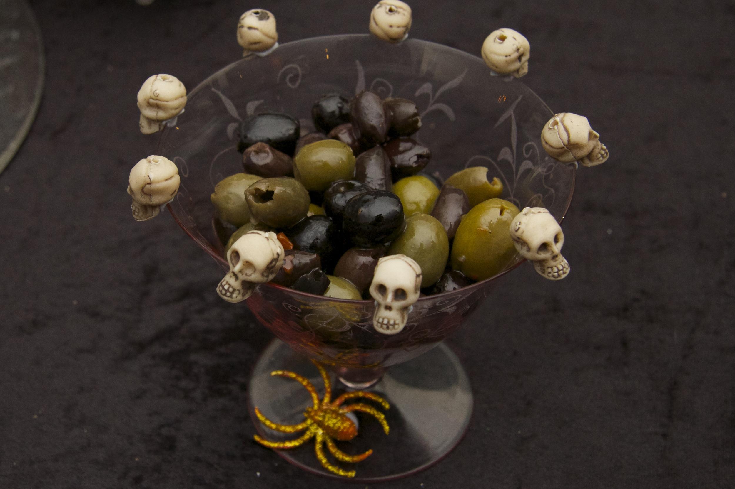 Halloween Olive bowl