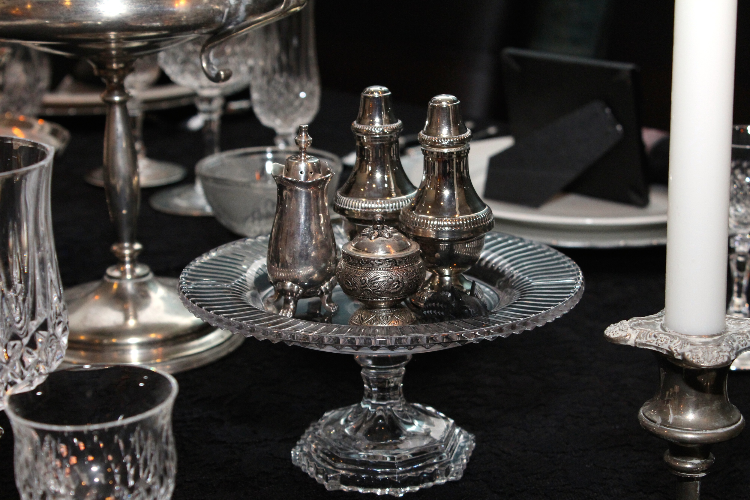 Gothic Party - Vintage Silver Pieces