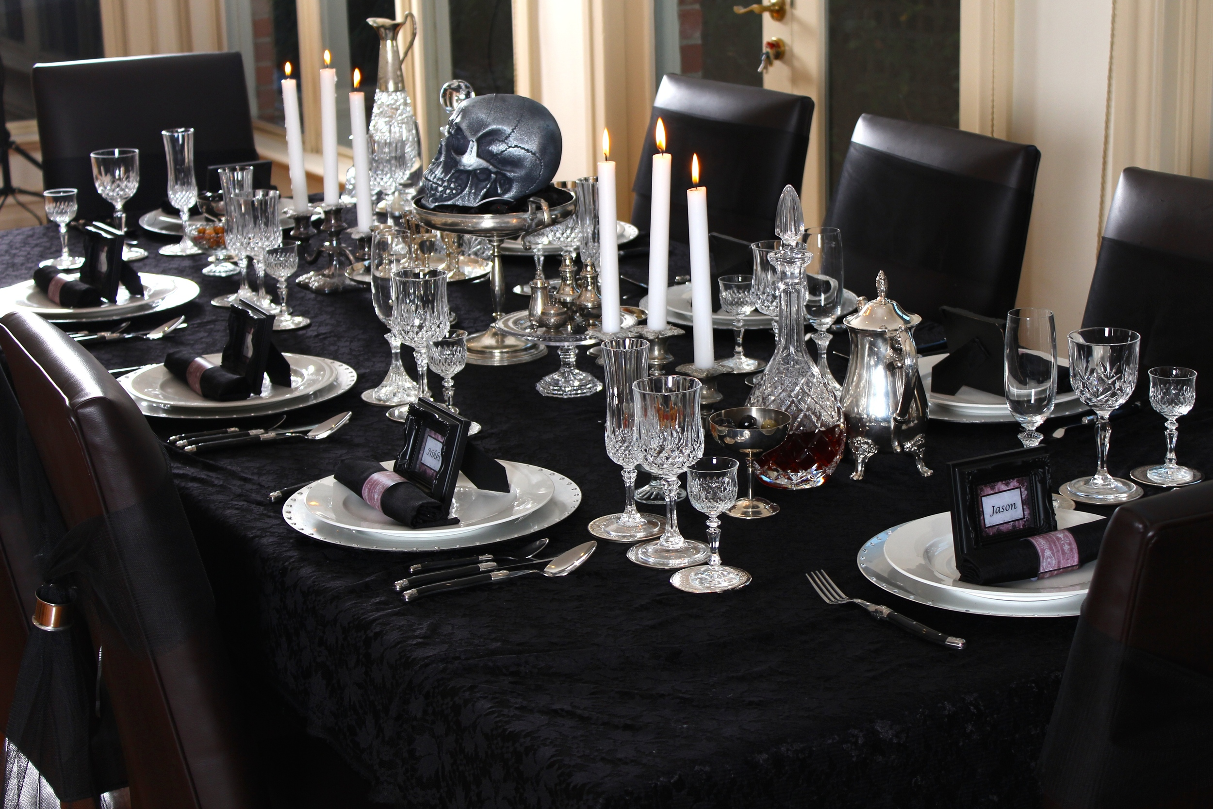 Gothic Party - Table style