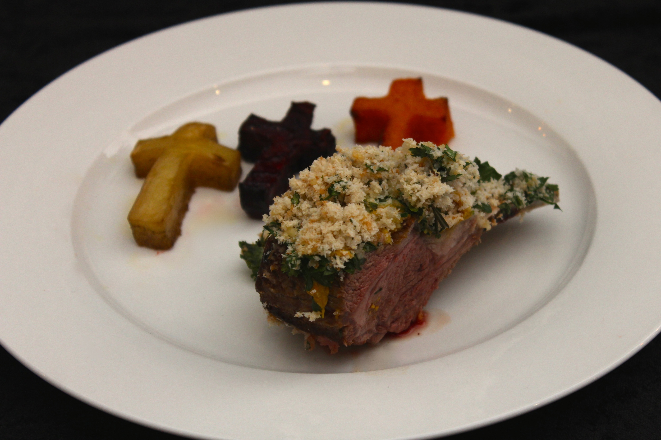 Gothic Dinner Party - Herb Crusted Rack of Lamb
