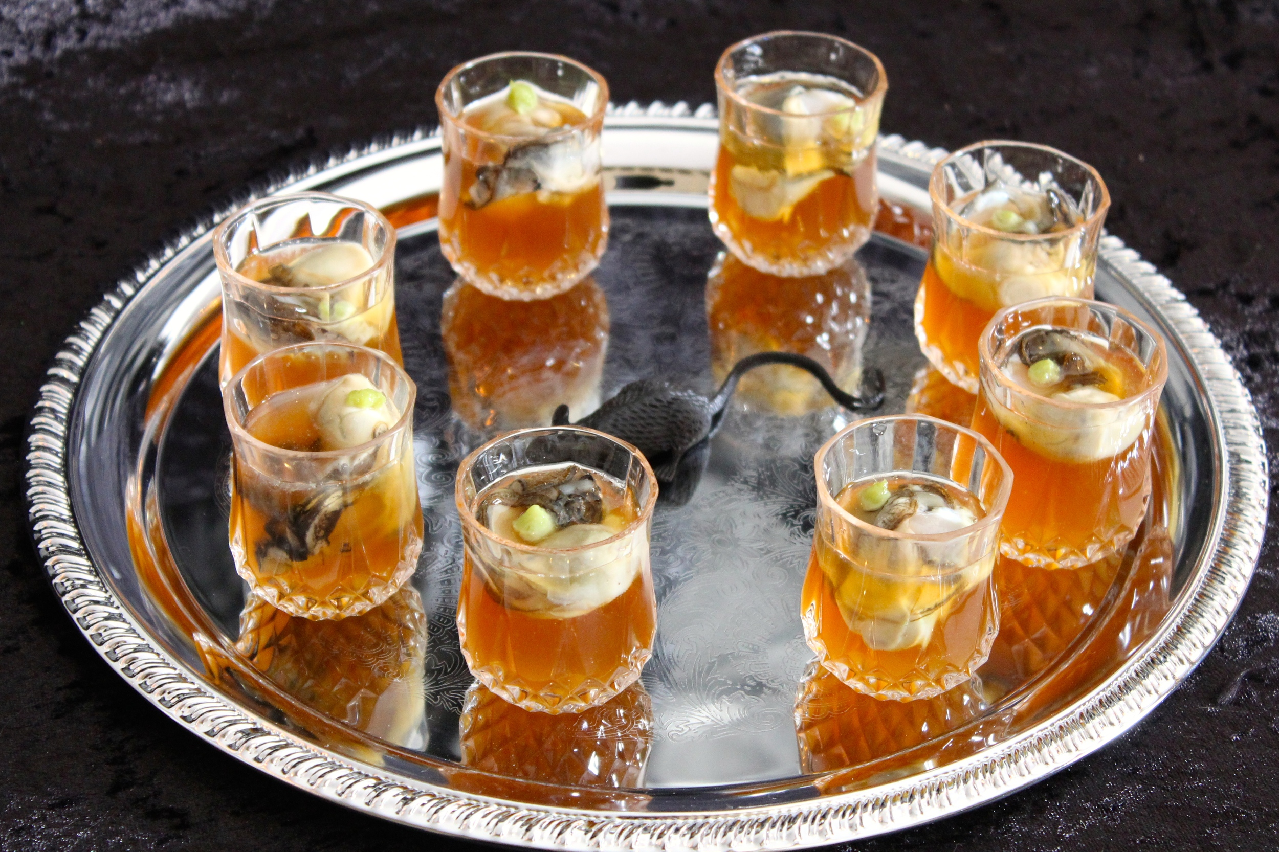 Gothic Dinner Party - Oyster Shooters