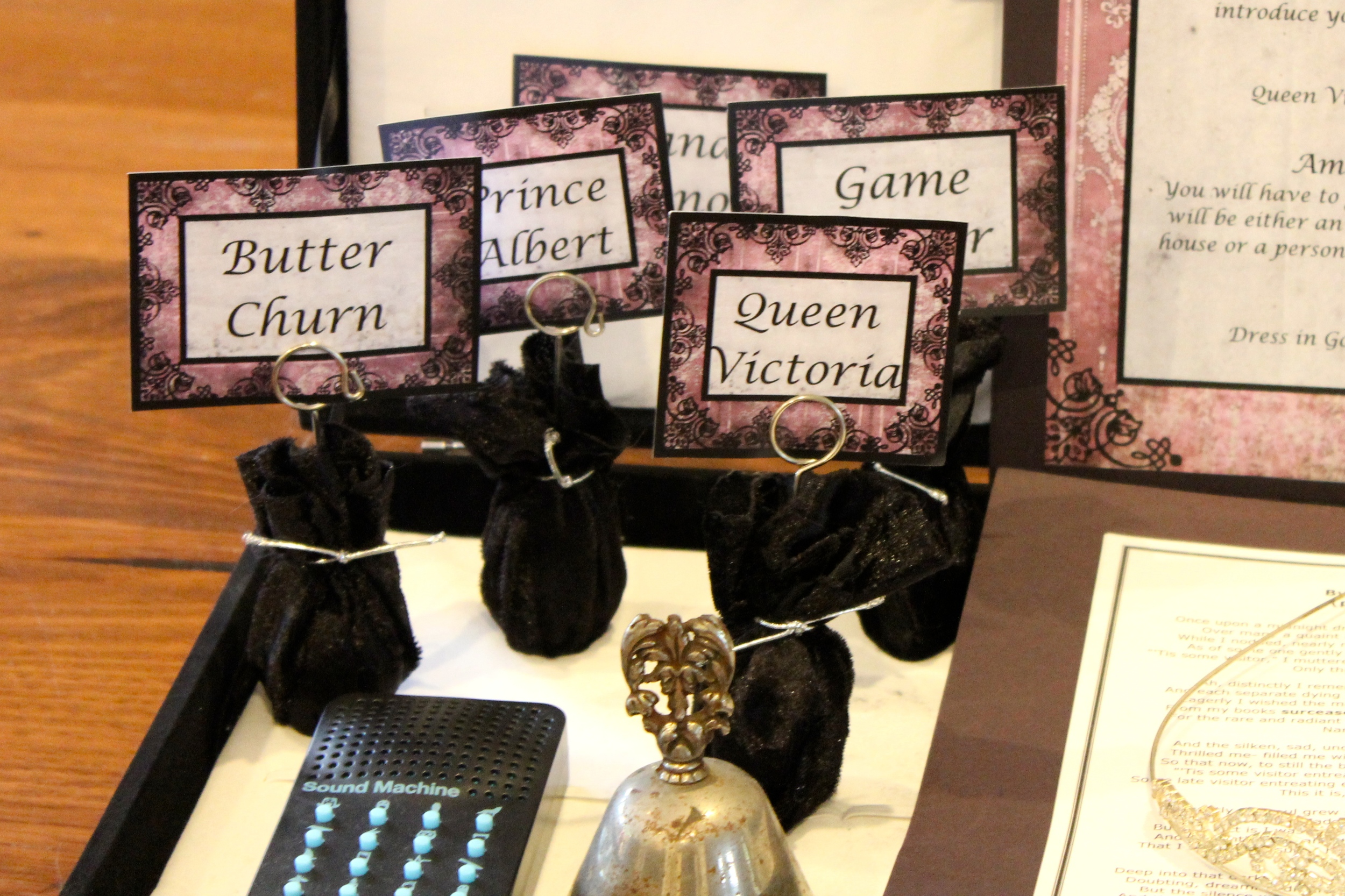 Gothic Dinner Party - Games