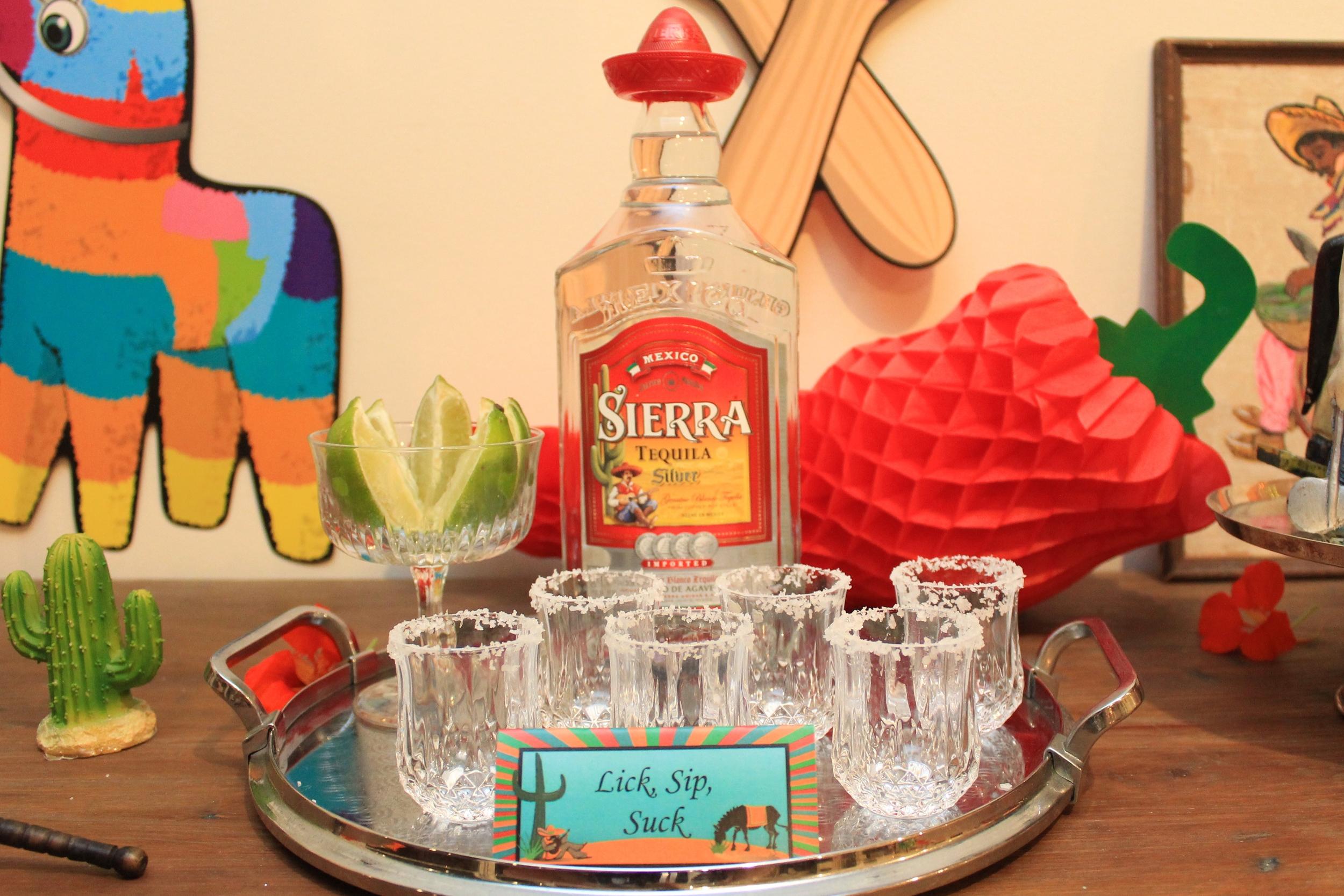 Tequila, Lick, Sip, Suck