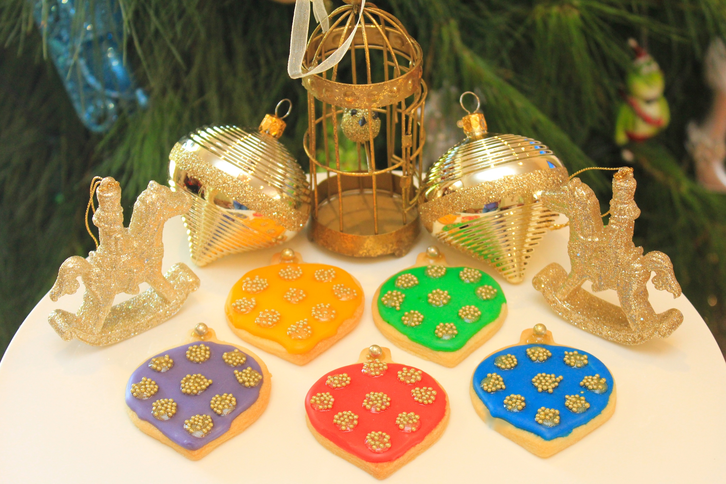 Christmas Bauble Cookies