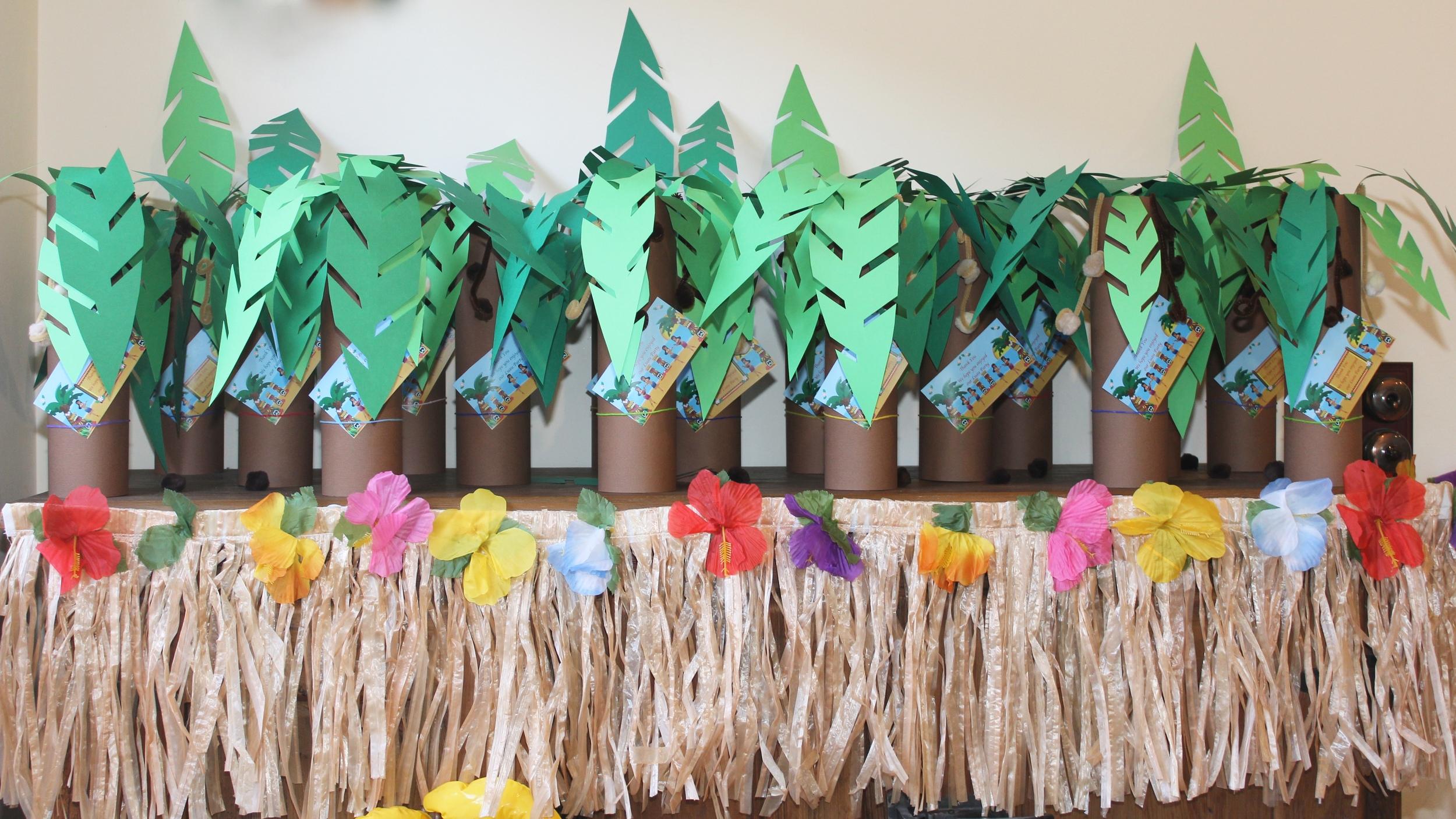 Hawaiian Luau Party Favour Bags