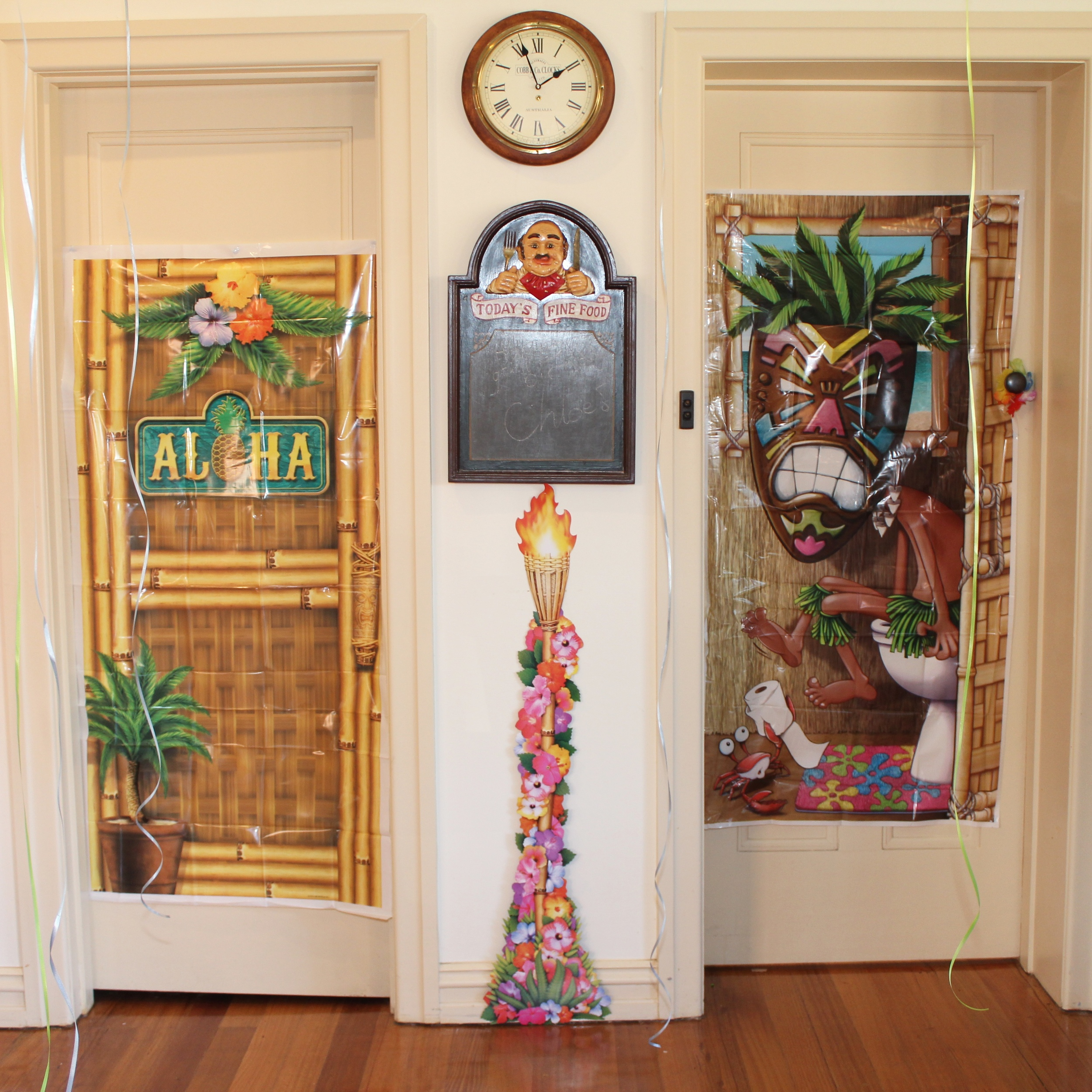 Hawaiian Luau Party Decorating Ideas